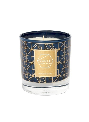 Rakle 210 gr Square Vegetable Candle Siyah